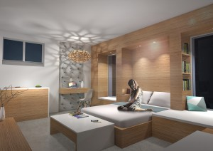 Paul Marlier Studio - Espace sommeil